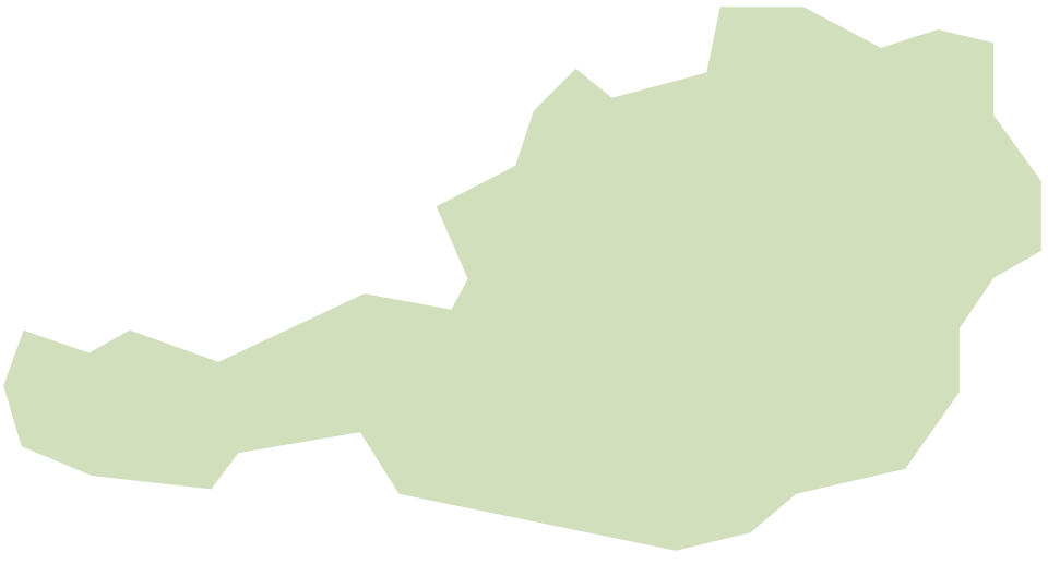 Kaart van de Sempatap-verkopers in Oostenrijk