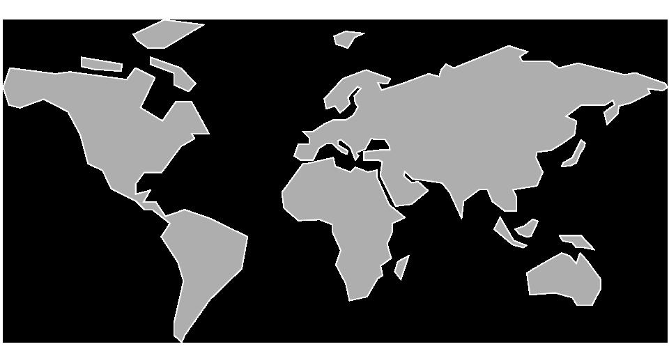 Kaart van de Sempatap-verkopers in de rest van de wereld