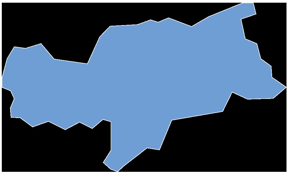 Kaart van de Sempatap-verkopers in Süd Tyrol