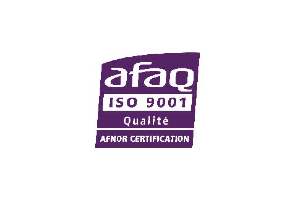Certificering AFAQ ISO 9001