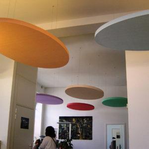 ABSOPANEL akoestische panelen zijn in een groot aantal kleuren verkrijgbaar.