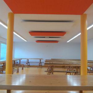 ABSOPANEL akoestische panelen decoreren muren en plafonds en isoleren tegen geluid.