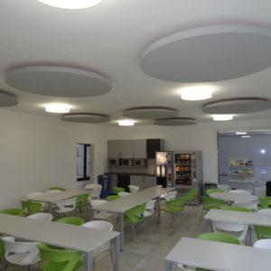 Met ABSOPANEL akoestische panelen verbeter Sempatap het geluidscomfort in restaurants en bedrijfskantines.