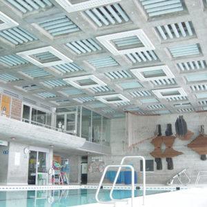 ABSOPANEL akoestische panelen maken verbetering van de akoestiek mogelijk in een groot aantal openbare ruimtes, van zwembaden tot vergaderzalen.