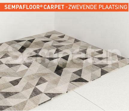SempaFloor Carpet, geluidsisolatie onder tapijt