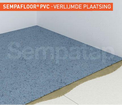 SempaFloor PVC, geluidsisolatie onder vloer of vloerbedekking van PVC